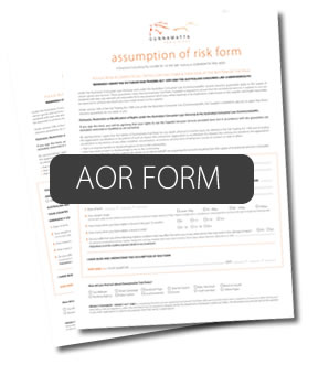 assumption of risk form
