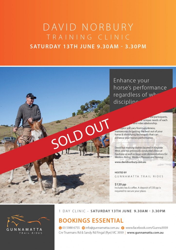 GTR_David_Norbury_Clinic_Horse_Riding_JUNE 13th sold out final 2015